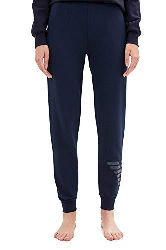 Emporio Armani dames joggingbroek - Loungewear Pants, katoen, blauw
