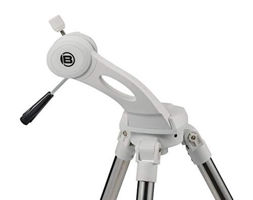 Bresser azimutale Teleskopmontierung Nano AZ mit Stativ für Teleskope bis zu 4 KG Gewicht, ideale Reisemontierung