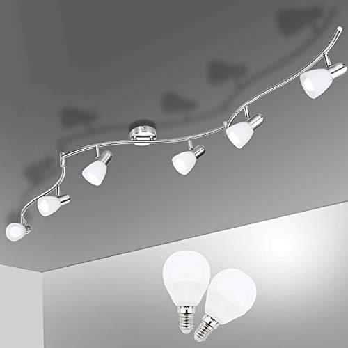 lampadario 5 faretti Faretti LED da Soffitto Orientabili