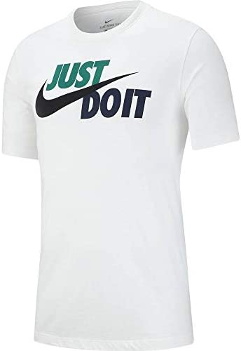 Nike Camiseta Hombre M NSW tee Just Do It Swoosh
