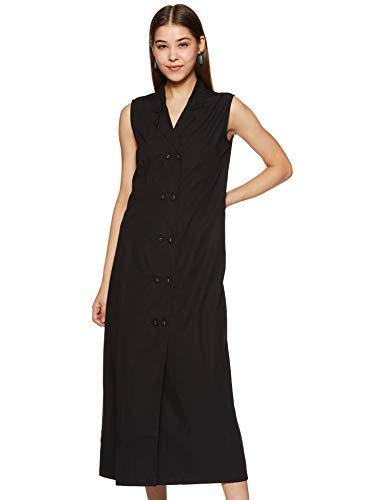 Amazon Brand – Eden & Ivy Women's Cotton A-Line Midi Dress