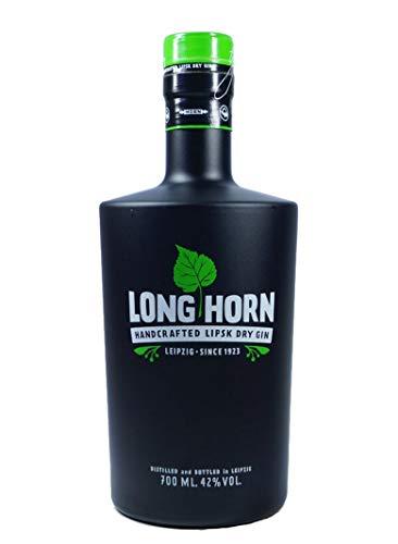 Long Horn Lipsk Dry Gin 42 % Alkohol 0,7 Liter Flasche