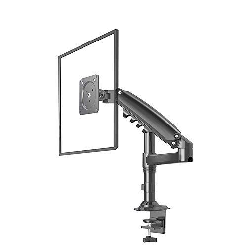 Soporte De Monitor Soporte para LCD De Computadora Presión De Aire De Escritorio hacia Arriba Y hacia Abajo Rotación De 17 A 27 Pulgadas Ajuste Plegable Multifuncional