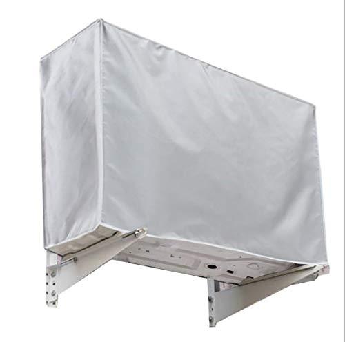 エアコン室外機カバー 日よけ 雨・雪・風・ホコリよけ アルミフィルム Lily-Mai エアコン 室外機 日よけ 劣化防止 簡単脱着 サンカット 固定式