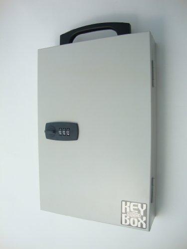 ガードロック壁付け・携帯兼用キーボックスキー収納本数10本マグネットシートなし