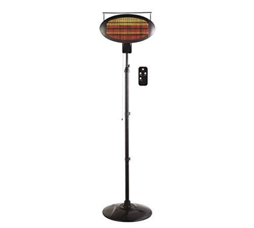Optimus PHP-1500DIR PHP-1500DIR Garage Outdoor Floor Standing Infrared Patio Heater