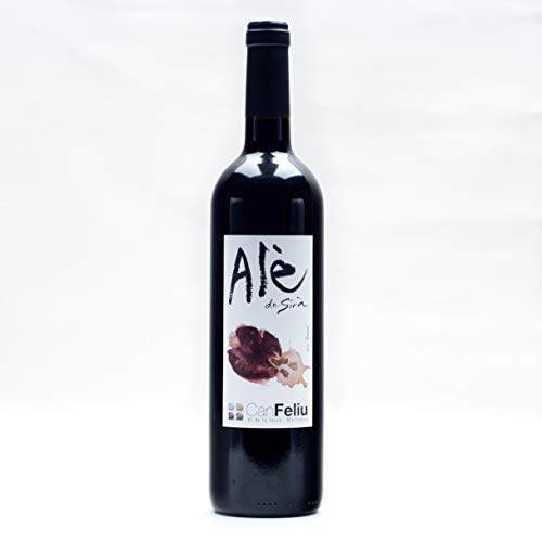 Vino tinto Alè de Syrà ecológico y biodinámico - Can Feliu - Mallorca - 750 ml