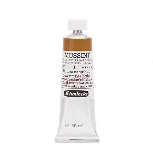 Schmincke MUSSINI Ölfarben, 35 ml, 670 Umbra natur hell