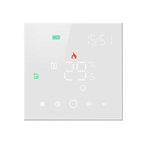 Beok WiFi Smart Touchscreen Thermostat Gaskessel Temperaturregler funktioniert mit Tuya App Google Home Alexa