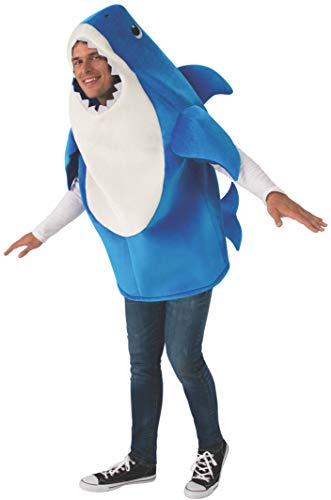 Rubie's Adult Daddy Shark Costume with Sound Chip, Standard
