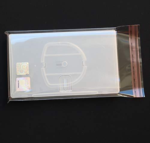 100 St. PlayStation Portable Schutzhüllen glasklar PSP Games mit Klappe und Verschluss