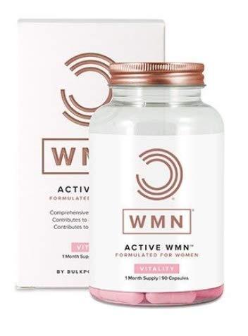 BULK POWDERS WMN Active Multivitamins Capsules for Women, Pack of 90