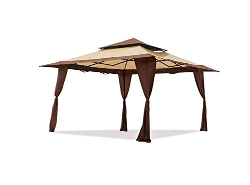 Z-Shade Replacement Canopy (Top Cover Only) 13x13 Pop-Up Gazebo Model ZS1313PRETNB150D - (NOT for auto-Extended Poles) Polyester Fabric (Top Cover Only) Frame Not Included