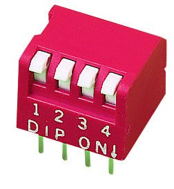 MCDP09 - DIP SIP Switch 9 Circuits Throu Key Piano New product 5 ☆ very popular type