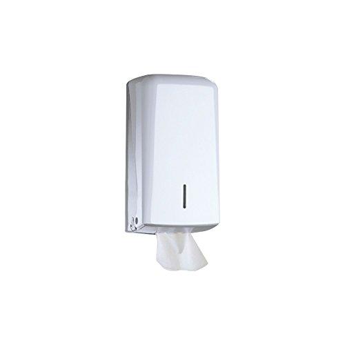 jofel Azur Jumbo MIDI Distributeur de papier toilette en plastique blanc