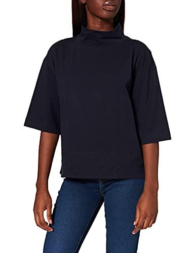 edc by Esprit 081CC1K303 Camiseta, 400/azul Marino, M para Mujer