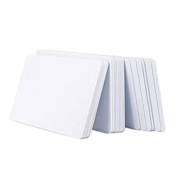 Ximoon 20pcs Ntag215 White Card NFC Mobile Phone Sensor Card ntag215 Card Electronic Label Amiibo Game Card Yuan Coin Card for All NFC-Enabled Smartphones and Devices