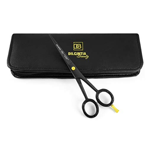 Professional Barber Hair Cutting Scissors/Shears 6'- Ice Tempered Stainless Steel Reinforced with Chromium to Resist Tarnish and Rust