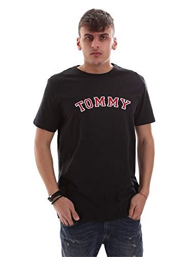 Tommy Hilfiger Herren CN SS Tee Logo Thermounterwäsche-Set, Grau (Grey 091), (Herstellergröße:MD)