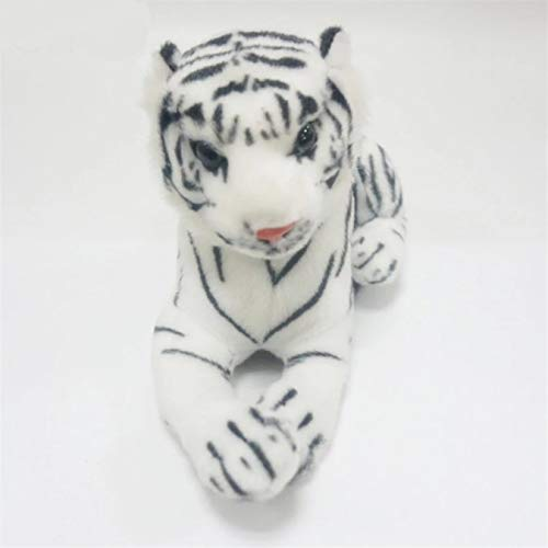 Tigres blancos, juguetes de peluche, simulacin de tigres, muecos de peluche suaves, almohada para beb, juguetes de peluche para chico, regalo de Navidad para nios, 25Cm