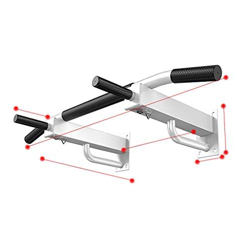 YQ&TL Equipo de Entrenamiento de Barra Horizontal Barras de Dominadas Entrenamiento Multifuncionales/Elevación de Piernas con Barras Paralelas/Entrenamiento con el Brazo Levantado B