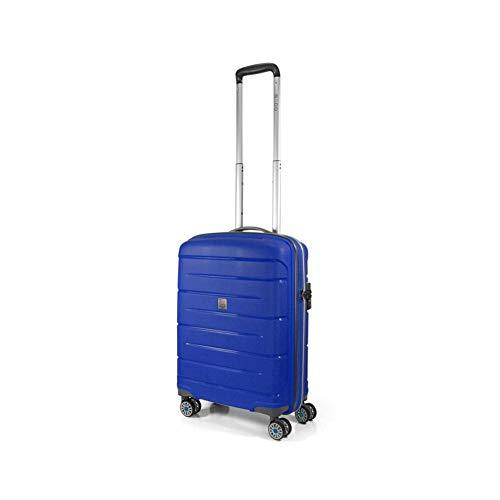 Modo by Roncato Starlight 2.0 Bagaglio a Mano, 55 cm, 40 litri, Azzurro