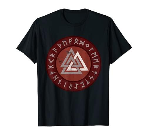 Símbolo Vikingo Valknut Nórdico | Guerrero Camiseta