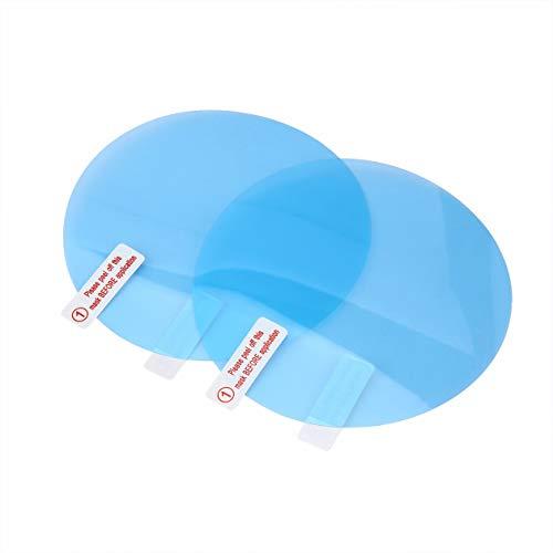 Preisvergleich Produktbild Biyi Rückspiegel Schutz Anti-Fog-Antiwasser-Anti-Fleck-Film-Abdeckung Spiegel Multifunktions-Touchpanel-Abdeckung Heater Spiegel (blau)