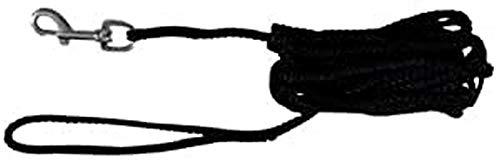 Trixie 19751 Schleppleine, 5 m/ø 5 mm, schwarz