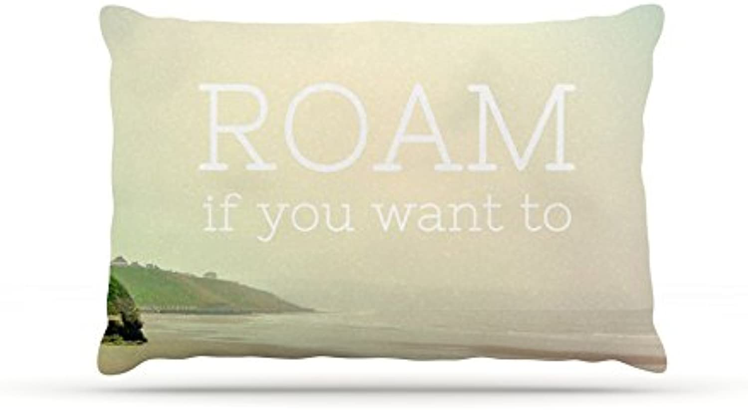 Kess InHouse Alison Coxon Roam  Ocean Dog Bed