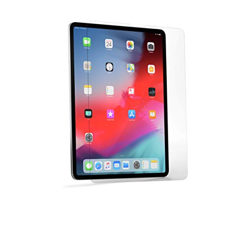 """Brydge Flexible Tempered Glass Screen Protector for 12.9"""" iPad Pro (2018)   9H Hardness Ultra-Thin .3mm Glass   Face ID & Apple Pencil Compatible   Designed for Brydge 12.9 Pro Wireless Keyboard"""