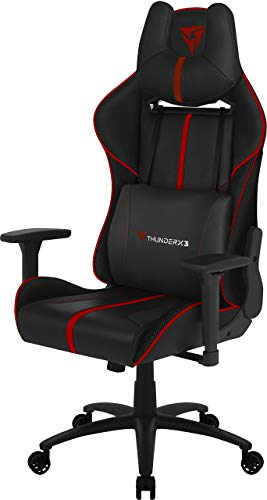 Thunder X3 BC5 Poltrona Gaming con Air Technology, Rosso