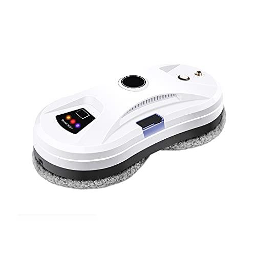 Robot lavavetri, con Spruzzo d'Acqua Automatico Robot per la Pulizia dei vetri Intelligente per Interni ed Esterni Kit di Pulizia Intelligente per Finestre in Piastrelle di Vetro, Bianco