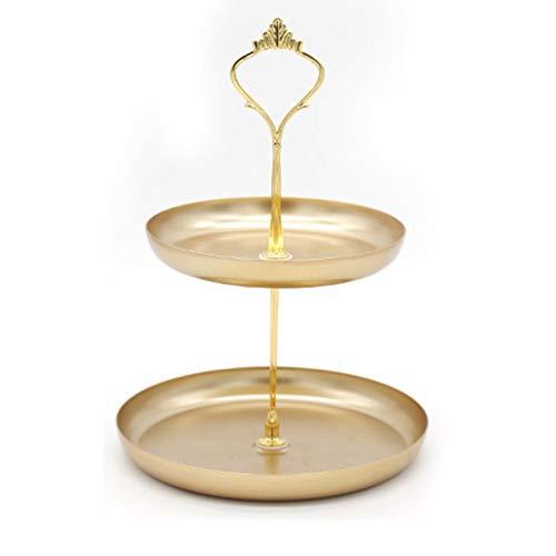 YXCKG Bandeja Oro, Bandeja para Platos de joyería Bandeja escalonada Bandejas de baño para mostrador, Vaciabolsillos Moderno Almacenamiento de Teléfono Joyería Multifuncional (Size : Small)