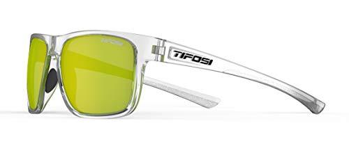 Tifosi Optics Swick Sunglasses (Crystal Clear/Smoke Yellow Lenses)
