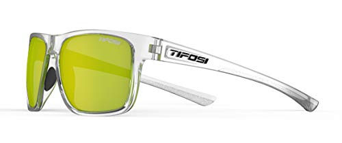 top 10 tifosi sunglasses Tifosi Optics Swick Sunglasses (Crystal Clear / Smoke Yellow Lens)