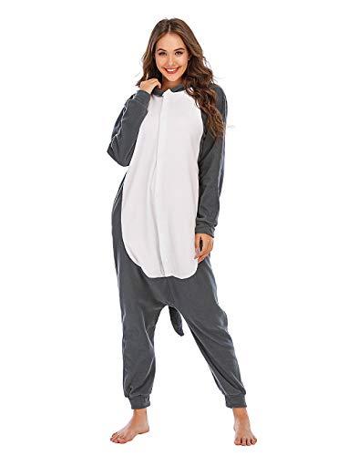 BGOKTA Disfraces de Cosplay para Adultos Pijamas de Animales Celebración de días Festivos