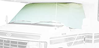 ADCO 2407 White Class C Ford 1997-2008 Windshield Cover (RV Motorhome with Mirror Cutouts)