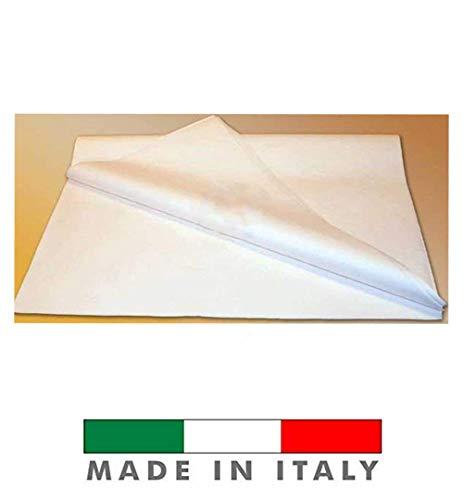 Palucart 100 Fogli di Carta VELINA Bianca Carta da Modello per SARTI GR. 30 CM. 100X140