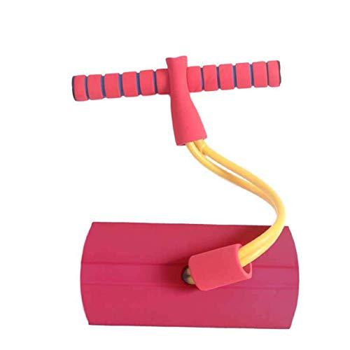 XIAOYAN Saltador Squeaky Foam PoMo Jumper Sticks Poam Pogo Jersey para niños y niñas Edades de 3 a 5 años - Seguro, Juguete Hinchable para niños pequeños, chillidos con Cada Salto