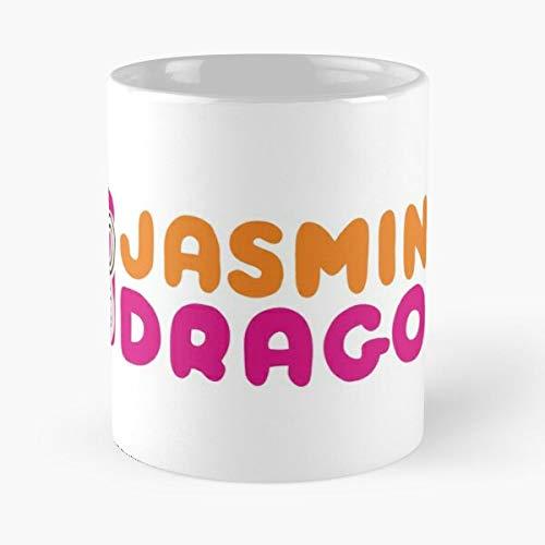 Jasmine The Iroh Airbender Last Uncle Zuko Avatar Dragon - Best 11 Ounce Ceramic Mug - Classic Mug for Coffee, Tea, Chocolate or Latte