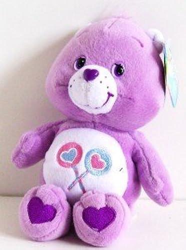 Care Bears Share Bear 8  Bean Bag Plush (2002) by Play Along