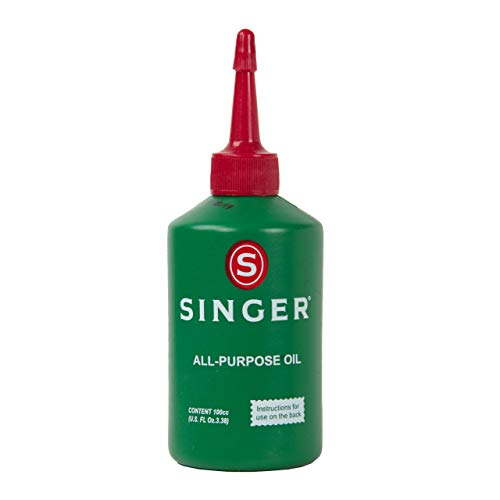 Singer All Purpose Sewing Machine Oil, 3.38-Fluid Ounce