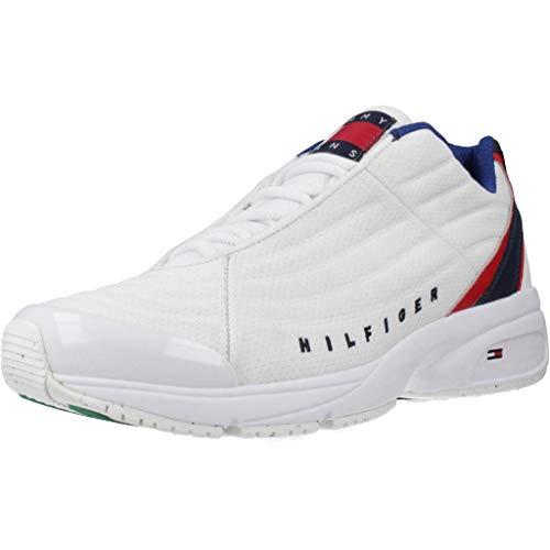 Tommy Jeans Herren Sneaker Heritage Sneaker (44 EU, YBS White)