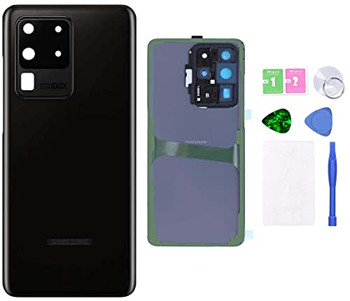 MovTEK Tapa Trasera Cristal Trasero Original para Samsung S20 Ultra 5G G988B...