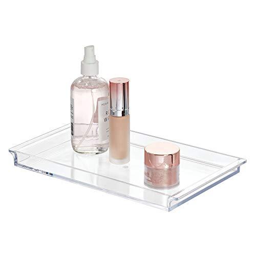 iDesign 38480EU Clarity Waschtisch-Ablage, durchsichtig
