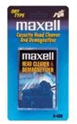 Maxell Cassette Head Cleaner and Demagnetizer - Dry Type A-450