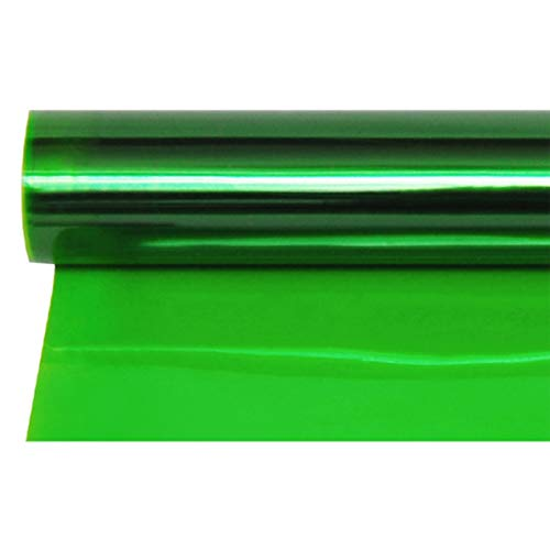 Meking 16x20 Inch Green Gels Color Filter Paper Correction Gel Lighting Filter for Photo Studio Light Red Head Light Strobe Flashlight - Green