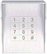 Vandalisme beschermd toegangssysteem codeslot deuropener inbouw of opbouw, kleur: AC230