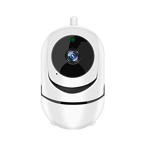 1280 * 720P Full HD Wireless IP Camera Wifi IP CCTV-camera Wifi Mini Network Video Surveillance Auto Tracking Camera IR Night Vision,(Without memory card)
